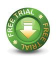 free trial download vector image vector image