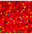 Abstract Red Geometric Color Background vector image