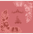 floral ornaments vector image vector image