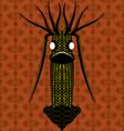 Digital virus design vector image vector image