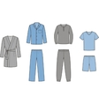 Sleepwear vector image