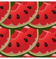 Seamless background with red fresh juicy vector image vector image