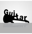 Guitar6 vector image vector image
