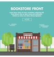 Bookstore Front vector image