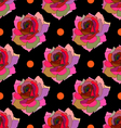 Seamless Floral textures vector image