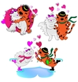 Love Cats vector image