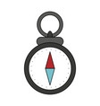 navigation compass symbol vector image