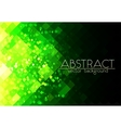Bright green grid abstract horizontal background vector image vector image