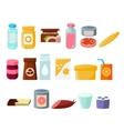Every Day Products Set vector image