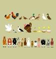 Cartoon Farm Characters Part 2 vector image