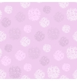 seamless pattern with polka dots vector image