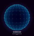 3d sphere vector image