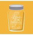love message design vector image