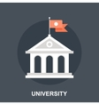 University vector image