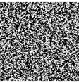White noise black and white pattern vector image