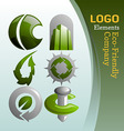 Ecofriendly company vector image