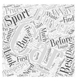 SC choosing the best sports car Word Cloud Concept vector image