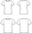 Sport t-shirt vector image vector image