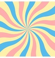 Retro sunburst background vector image