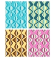 Collection of seamless pattern vector image