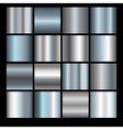 silver backgrounds vector image