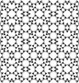 Monochrome seamless ethnic pattern vector image