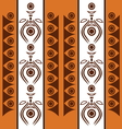 Aboriginal abstract background vector image