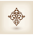 luxury damask baroque victorian floating design vector image