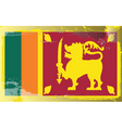 sri lanka national flag vector image