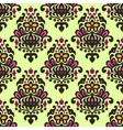 Damask Flourish seamless pattern vector image