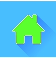 Green Home Icon vector image