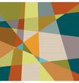 Textured retro geometric background vector image