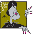 Wicked witch vector image vector image