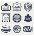 Monochrome Vintage Labels vector image