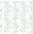 Leaf floral abstract seamless background pattern vector image vector image