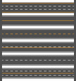 asphalt horizontal line vector image