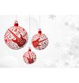 Music Christmas card vector image