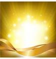 Lights Backgrounds With Sunburst vector image