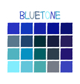 Bluetone Color Tone without Name vector image
