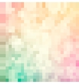 Mosaic colorful pattern vector image
