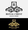 Royal Crest Logo vector image