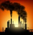 industrial factory Stock vector image