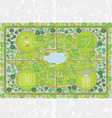 park plan vector image