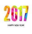 New Yaer greeting card vector image vector image
