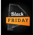Black Friday sale badges vector image