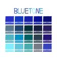 Bluetone Color Tone vector image