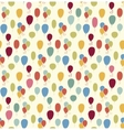 Seamless pattern with colorful baloons vector image