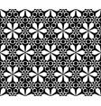 stylish floral geometric background vector image