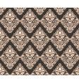 Classic original royal damask ornament vector image