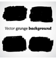 Black grunge abstract background vector image vector image
